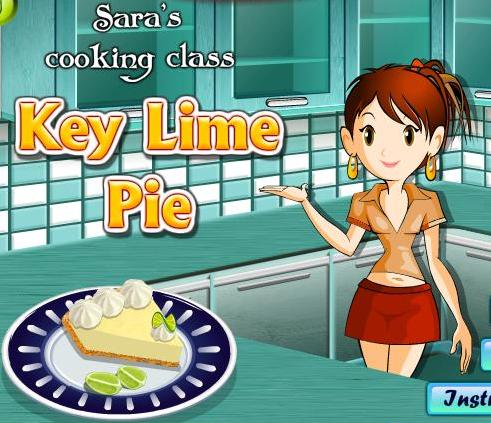 the game sara cooking class key lime pie recipe online